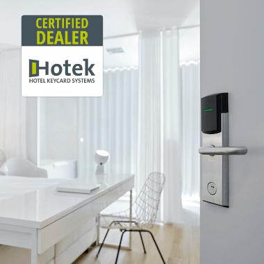 Cerraduras para hoteles Hotek