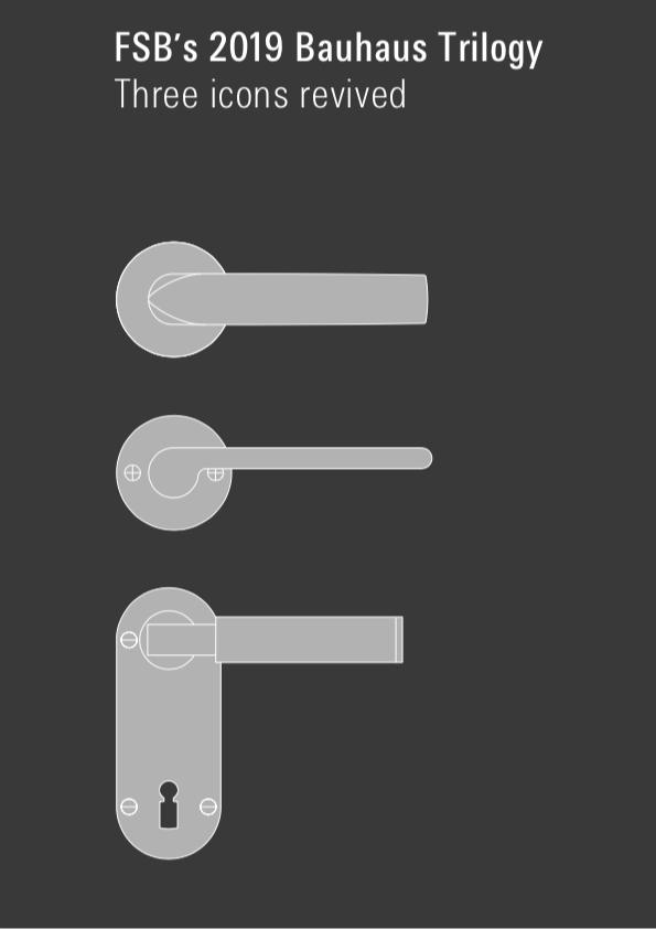 100 años de Bauhaus. Trilogia FSB