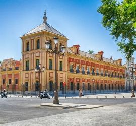 Palacio de San Telmo – Sede de la Junta de Andalucia